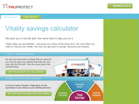 PruProtect Calculator screenshot 1
